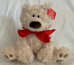 "GUND Philbin Teddy Bear Stuffed Animal Plush, Ivory Beige 10"" Seated 319... - $19.79"