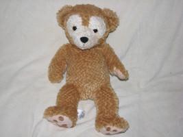 "DUFFY 14"" HIDDEN MICKEY Bear Plush DISNEY Theme Parks Lovey Brown Tan Sh... - $18.80"