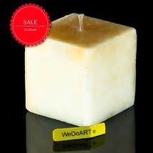 SABON Scented Candle - 7/7/7 Square Vanilla Coconut - SALE - $15.84