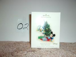 2007 Hallmark Ornament Trimming The Tree   Mickey & Donald - $24.99
