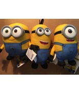 3 New Minions Stuffed Toys ~ Despicable Me - $13.99