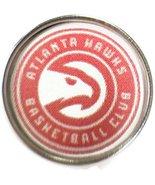 Snap Jewelry Fashion NBA Basketball Logo Atlanta Hawks 18MM - 20MM Snap ... - $5.83