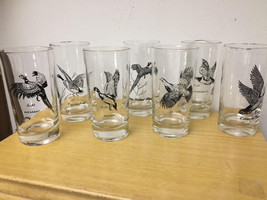 Federal Glass Sportsman or Hunting Birds Series Highball or Beverage Gla... - $50.00