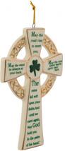 Kurt Adler 5.12-Inch Porcelain Irish Cross Ornament (YAMJ4102) - $23.34