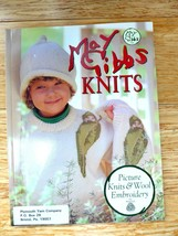 May Gibbs Knits Picture Knits & Wool Embroidery Flower Babies Soft Bay B... - $4.00