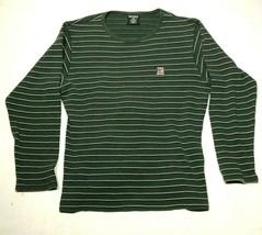 Vintage Ralph Lauren Polo Sport Tee T Shirt Mens XL Green Blue Striped W... - $13.09