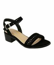 TOP MODA, Black Favor Sandal, Sz 5.5 - $17.82