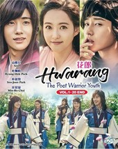 KOREAN DRAMA HWARANG: THE POET WARRIOR YOUTH VOL.1-20 END DVD ENGLISH SUBTITLE