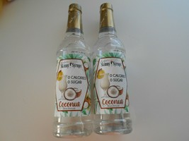Coconut Jordan's Skinny Syrups Gourmet Sugar Free 0 Cal 25.4 oz 2 Bottles - $28.50
