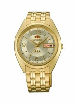 Orient Tri Star Automatic Gold Dial Stainless Steel Men's Watch FAB0000CC9 - $77.41