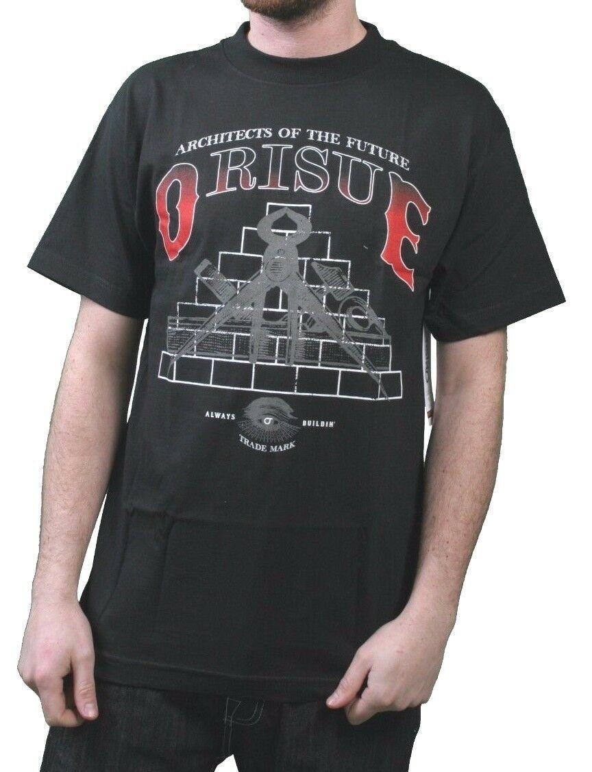 Orisue Herren Schwarz Architekten Von Der Zukunft Building A Besser T-Shirt