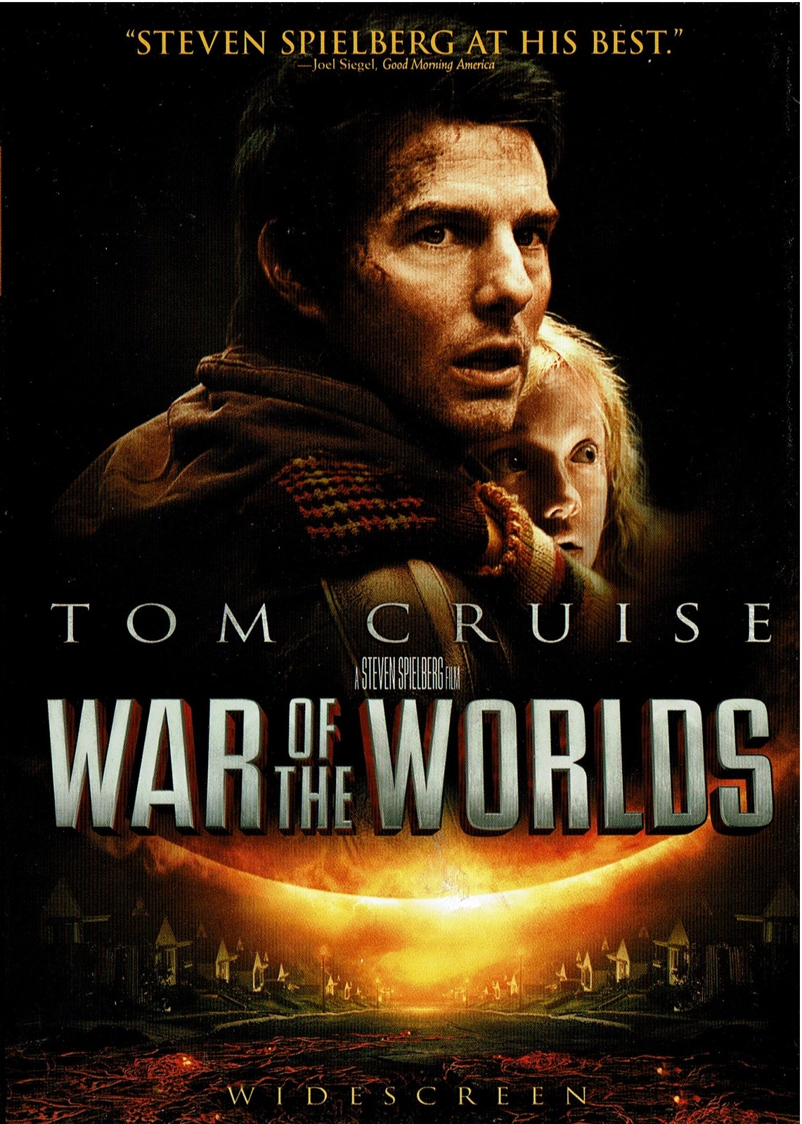 War of the Worlds, DVD, 2005, Tom Cruise, Widescreen