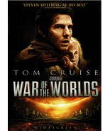 War of the Worlds, DVD, 2005, Tom Cruise, Widescreen - $0.00