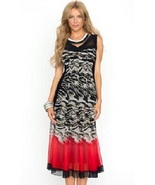 Go Rouge Flared Animal Print Salsa Dress by Picadilly - NOW EXTRA 10% OFF! - $66.90+