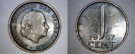 1967 Netherlands 1 Cent World Coin - $3.99