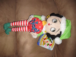 "2012 BETTY BOOP CHRISTMAS NOEL Brand New Licensed Plush NWT With Tags 17"" - $7.99"