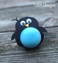 Eos Happy Little Penguin Lip Balm Holders / Birthday / Showers / Gifts /... - $3.75