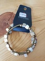1306 Gold Beaded Bracelet (New) - $7.61