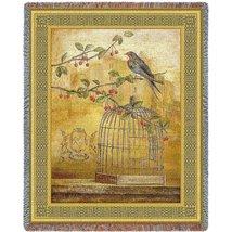 Oiseav Cage Cerise II Blanket - $54.95