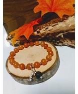 Red Adventurine Diffuser Bracelet Handmade with Gemstones and Sterling S... - $11.00