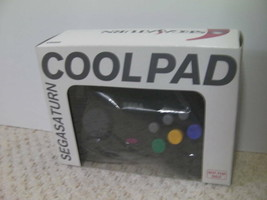 SEGA Saturn Controller Cool Pad Clear Black Not Sold In Stores Rare From... - $77.95