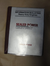 SEALED POWER HEAVY DUTY ENGINES SPX CORPORATION SERVICE BULLETINS - $29.99