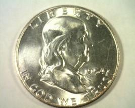1954-S FRANKLIN HALF CHOICE UNCIRCULATED CH. UNC. NICE ORIGINAL COIN BOB... - $23.00