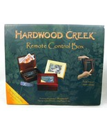 Hardwood Creek Remote Control Box Wooden Photo Walnut Cherry - $24.99
