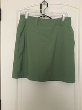 NIKE Fit Dry Golf Women's Skort Skirt ActiveWear Sz 4 P Green  - $55.68