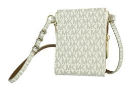 Michael Kors Women's MK Logo PVC Leather Purse Belt Fanny Pack Bag 552500 image 12