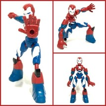 Marvel Bend and Flex Iron Patriot Action Figure Avengers Excellent Condi... - $14.01