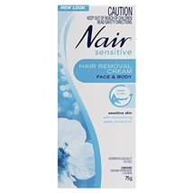 New Look Nair Sensitive Hair Removal Cream 75g with 1PCS Chinese Knot Gi... - $17.10
