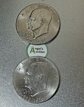 Eisenhower Dollar 1976 P and 1976 D AA20D-CND8003 image 2