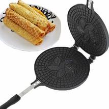 Waffle Maker Omelet Pancake Mold Egg Roll Ring Machine Cake Baking Pan C... - $49.95 CAD