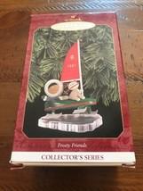 hallmark keepsake collectors series ornaments Frosty Friends 1987  - $14.95