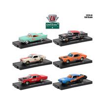 Drivers 6 Cars Set Release 44 In Blister Packs 1/64 Diecast Model Cars b... - $50.66