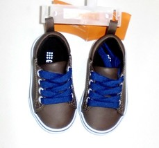Gymboree Toddler Boy Brown Sneakers 5 7   NWT - $18.99