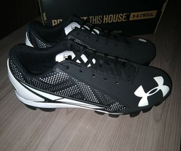Under Armour Men UA 2019 Leadoff Low RM Adult Baseball Softball Molded Cleat 6.5 - $24.95