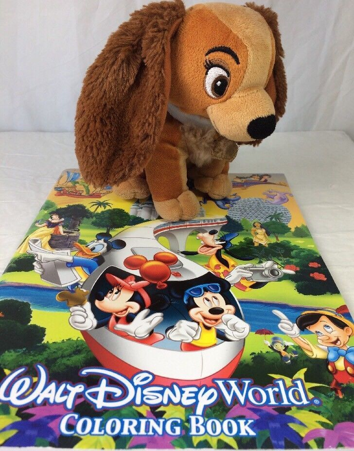 e96878c71b4 Walt Disney World Theme Park Coloring Book   and 50 similar items