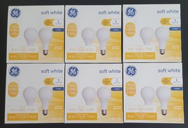 Ge Soft White 3-Way General Purpose A21 Light Bulbs 2-Pack x6 | Brand NEW/UNUSED - $60.00
