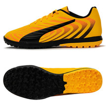 Puma ONE 20.4 TT Turf Football Shoes Soccer Cleats Boots Yellow 10583301 - $65.99