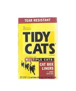 Tidy Cats Litter Box Liners Heavy Duty Tear Resistant 4 Liner - $24.74