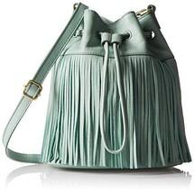 Fossil Jules Fringe Drawstring SG Bucket Bag, Sea Glass - $2.801,91 MXN