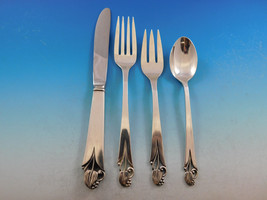 Woodlily by Frank Smith Sterling Silver Flatware Set For 8 Service 32 pieces - $1,895.00