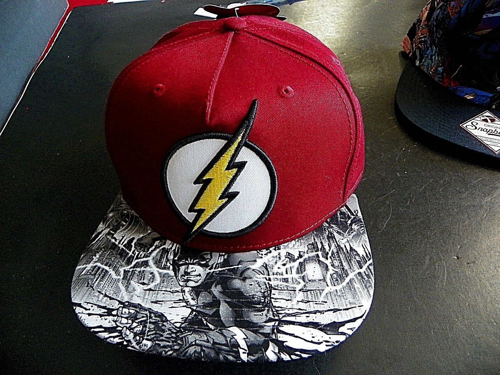 856db500599 Original Snapback Cap DC Comics Flash Red and 50 similar items. S l1600