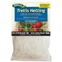 Gardeneer Trellis Netting 5 ft x 15 ft w/ 7 in Holes - $13.43