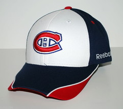 Montreal Canadiens Reebok NHL Piped Bill OSFM  Adjustable Hockey Cap Hat - $18.99