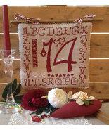 R-42 February 14th valentine cross stitch chart Rovaris   - $12.00