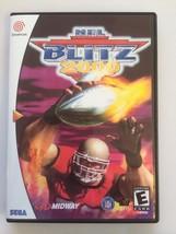 NFL Blitz 2000 - Sega Dreamcast - Replacement Case - No Game - $7.91