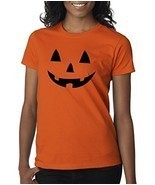 Funny Women's Halloween Pumpkin Shirt (Small) - ₨516.82 INR